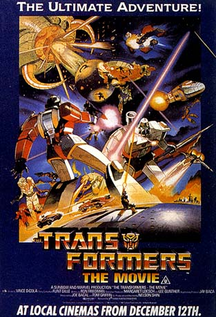 Transformers The Movie(1986) @ PlanetCybertron.com - My